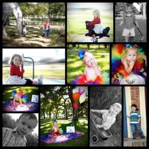CHILDREN 2008-2012 collage